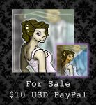 FOR SALE - Wedding Couple by PointyHat