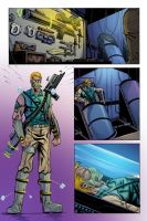 Carolina Cobalt Issue 1 Page 6Colors by NJValente