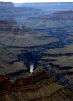 Grand Canyon Winter 4 - stock by Synaptica-stock