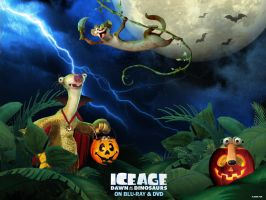 +Ice Age Halloween Wallpaper+ by RachelTerrera