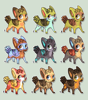 Designs for sale by griffsnuff
