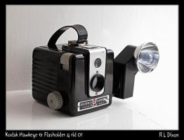 Kodak Hawkeye and Flasholder 4 rld 01 dasm by richardldixon