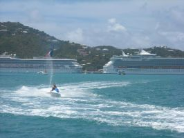 St. Thomas by Boeing787