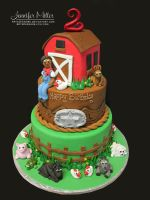 Farm Cake by ArteDiAmore