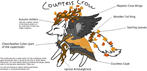 FFCA 01: Countess Crow by Quillnote