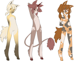 Ponygirl Adoptables 3 - 3 Open by Kurodoptables