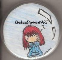 human chakuu in a bubble pin by chakuu