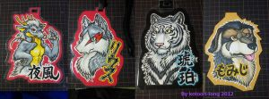 Badges1 by kotoori-long