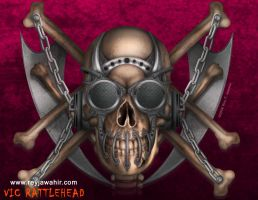 Vic Rattlehead Design by REY J by reyjdesigns
