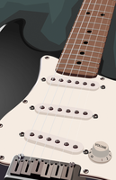 Stratocaster perspective by 1fino0