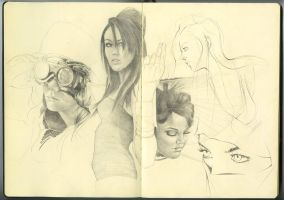 New Sketchbook PG. 01 by DylanPierpont