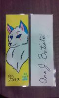 Ana's Journey Bookmark with autograph by liongirl2289