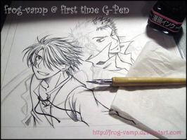 +First time Using G-Pen+ by Frog-VaMp