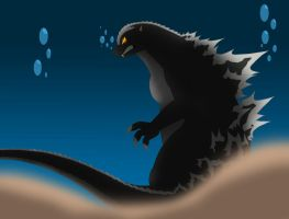Return of Godzilla by Pyrus-Leonidas
