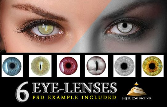 6 Eye Lenses by HJR-Designs