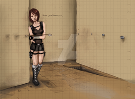 Lara Croft- Carelessness by Lmih