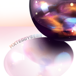 Space Marble or Something by MxTeddybear