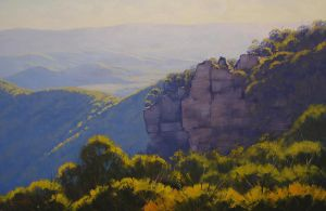 Afternoon Light Narrow Neck by artsaus