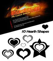 10 Hearth Shapes by DisasterLab