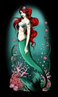 Beautiful mermaid by koffinkandy