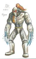 Fulgore Colored by Marioshi64