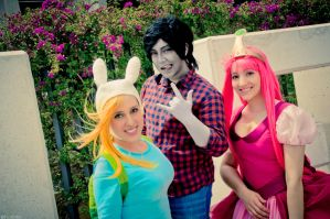 Adventure Time !! by KoiCos