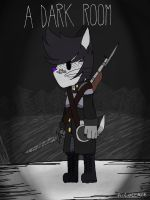 A Dark room by NightStar-the-Bobcat