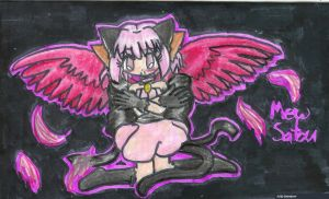 Wings Contest- Mew Satou by Frogberri