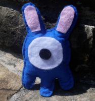 One-Eyed Bunnypus Plushie by kiddomerriweather