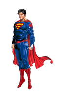 Superman DCnU (New52) Redesign by MadFacedkid