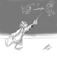 Disney School: Ludwig Von Drake by itsbetsy by EHH123