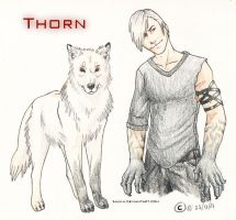 Thorn RPG -Reference Sheet by Sulka