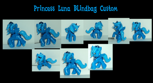 Princess Luna Custom Blind Bag Commission by The-Clockwork-Crow