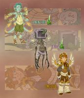 Adoptables - Tri-Terra [15.00$EA][1/3 OPEN][SALE] by LuckySquid