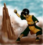 Collaboration - Toph by neko-yasha