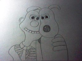 Wallace and Gromit by Super-Flamin-Angel