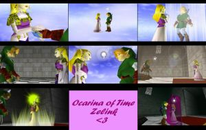 Ocarina of time zelink by Link-of-the-twilight