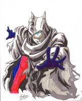 Hooded Ultraman Zero by Onore-Otaku