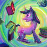 Twilight's Acid Trip by Dahtamnay