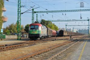 470 505 'Szechenyi Istvan' with freight in Gyor by morpheus880223