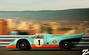 Porsche 917 at Montjuic 7 by ZowLe