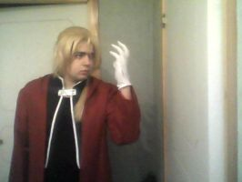 Elric Cosplay - With Wig by KristianTheTiragon