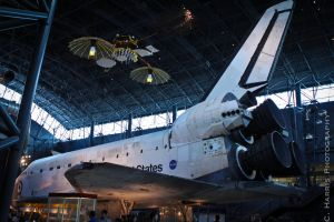 Space shuttle by CHarrisPhotography
