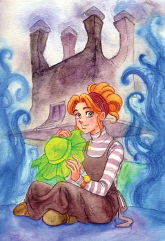 Sophie-Howl's moving castle by Mochan