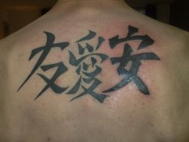 chinese symbols by campfens