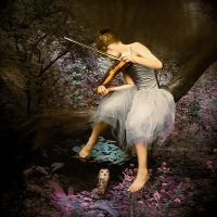 Serenade For Violin by SharonLeggDigitalArt