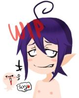 Mephisto Pheles In Selfy WIP by momo5596