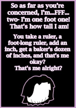 Quote: One Foot One by Tredis