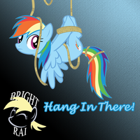 Bright_Rai - Dash's Sonic Rainbass -Hang In There! by brightrai
