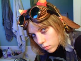 Close up on Steam punk by GoldenSunBlue